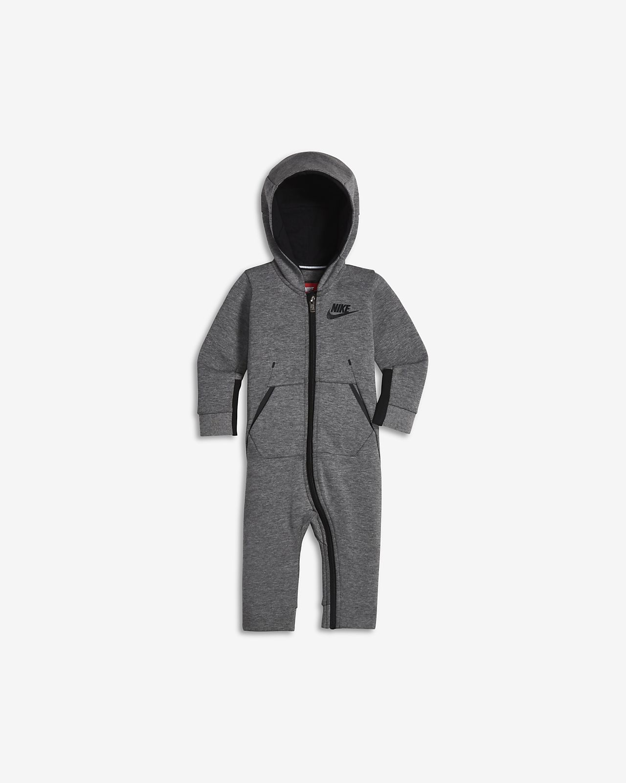 Tuta con cappuccio Nike Sportswear Tech Fleece Neonati (12 24 mesi)