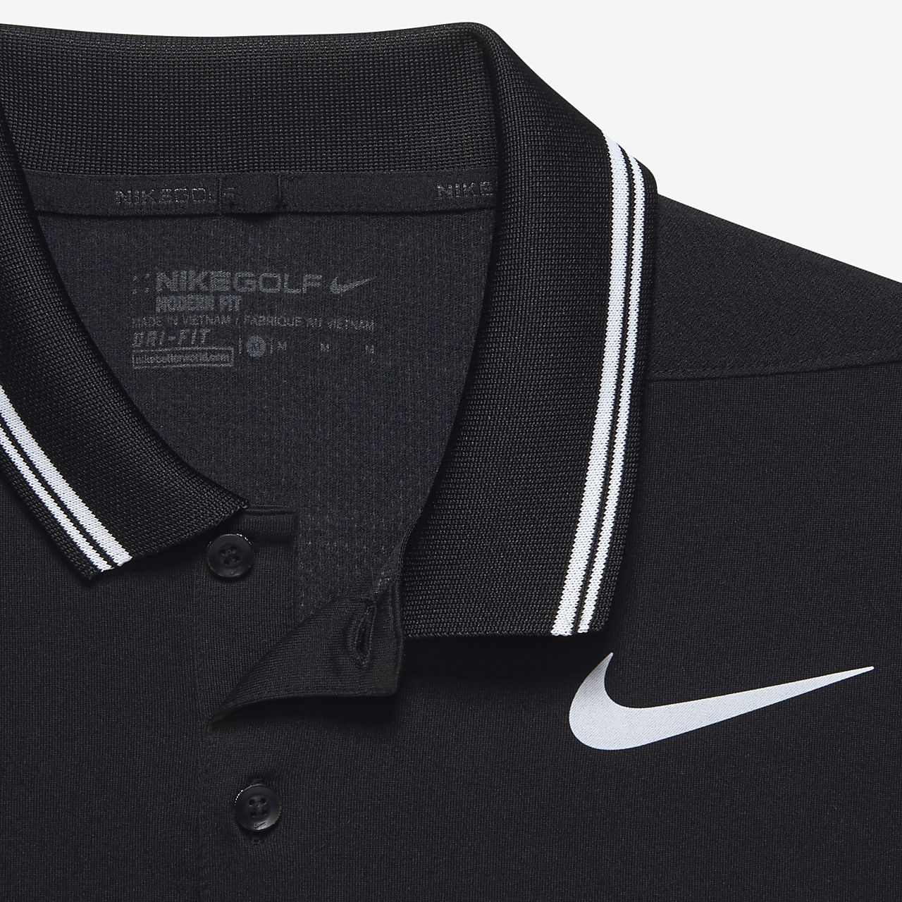 ... Nike Dry Tipped Men's Slim Fit Golf Polo