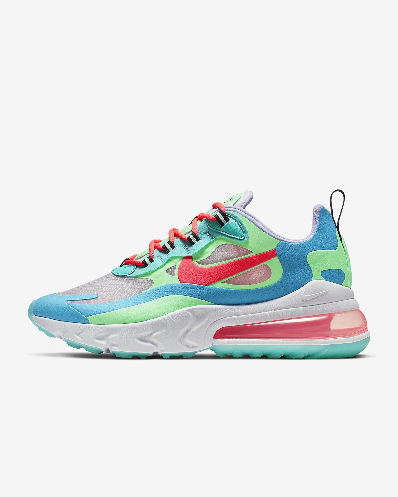 Nike Air Max 270 React («Psychedelic Movement») sko til dame