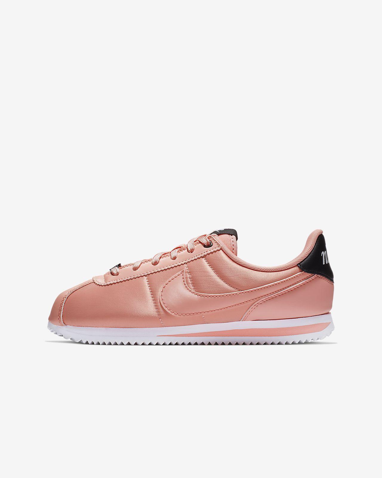 save off d19aa abfd5 ... Nike Cortez Basic TXT VDAY Big Kids  Shoe