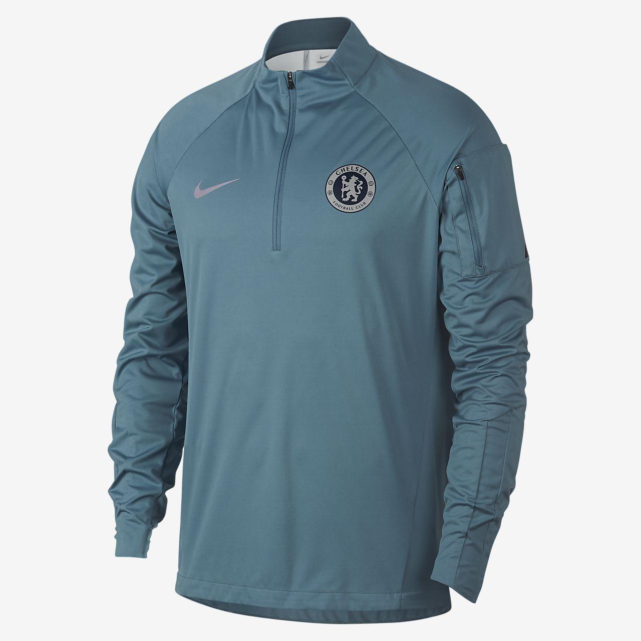 Haut de football Chelsea FC Shield Squad pour Homme