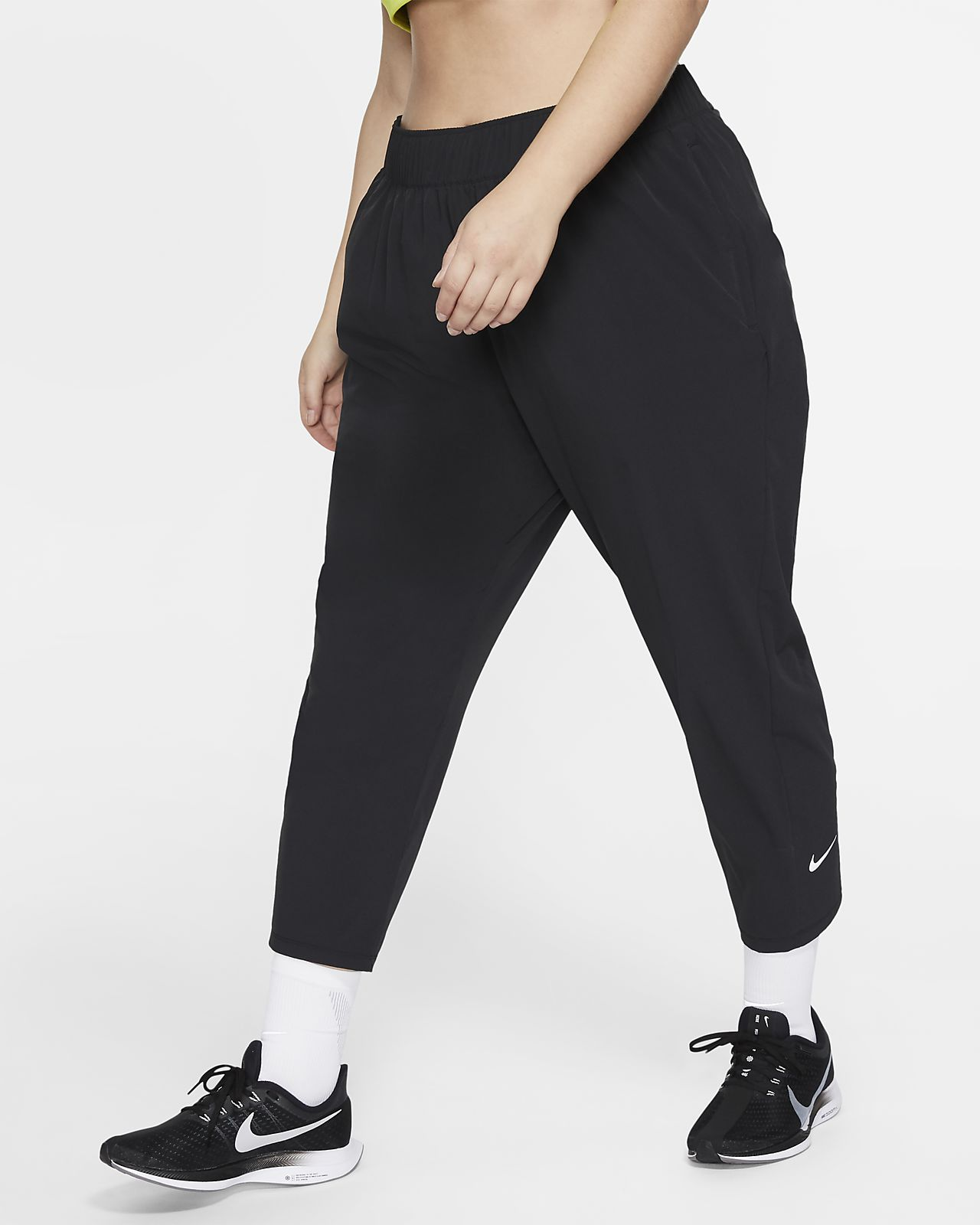 Nike Essential 7/8-hardloopbroek voor dames (grote maten)
