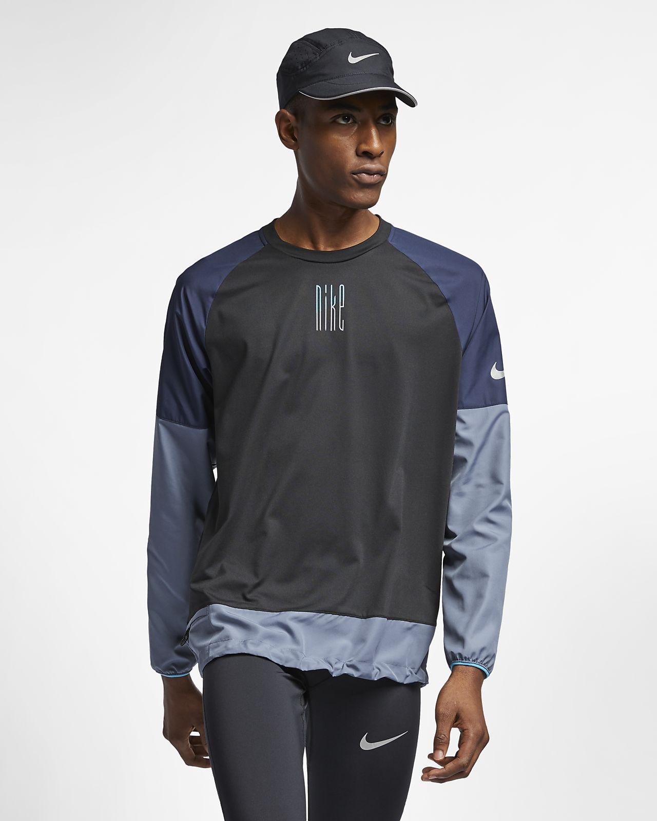 Nike Element Men s Long-Sleeve Running Top. Nike.com bde1e6a2ef28