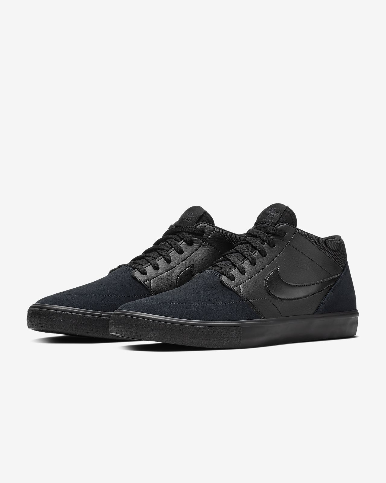 reputable site 030a8 8f969 ... Nike SB Solarsoft Portmore II Mid Men s Skateboarding Shoe
