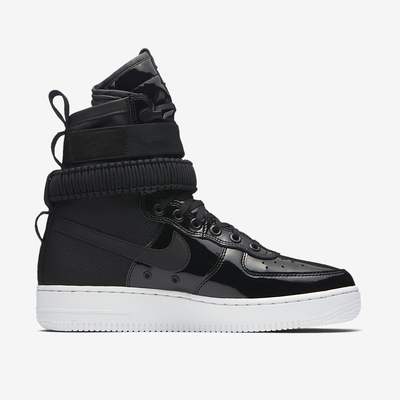 air force 1 mid black gum sole nz