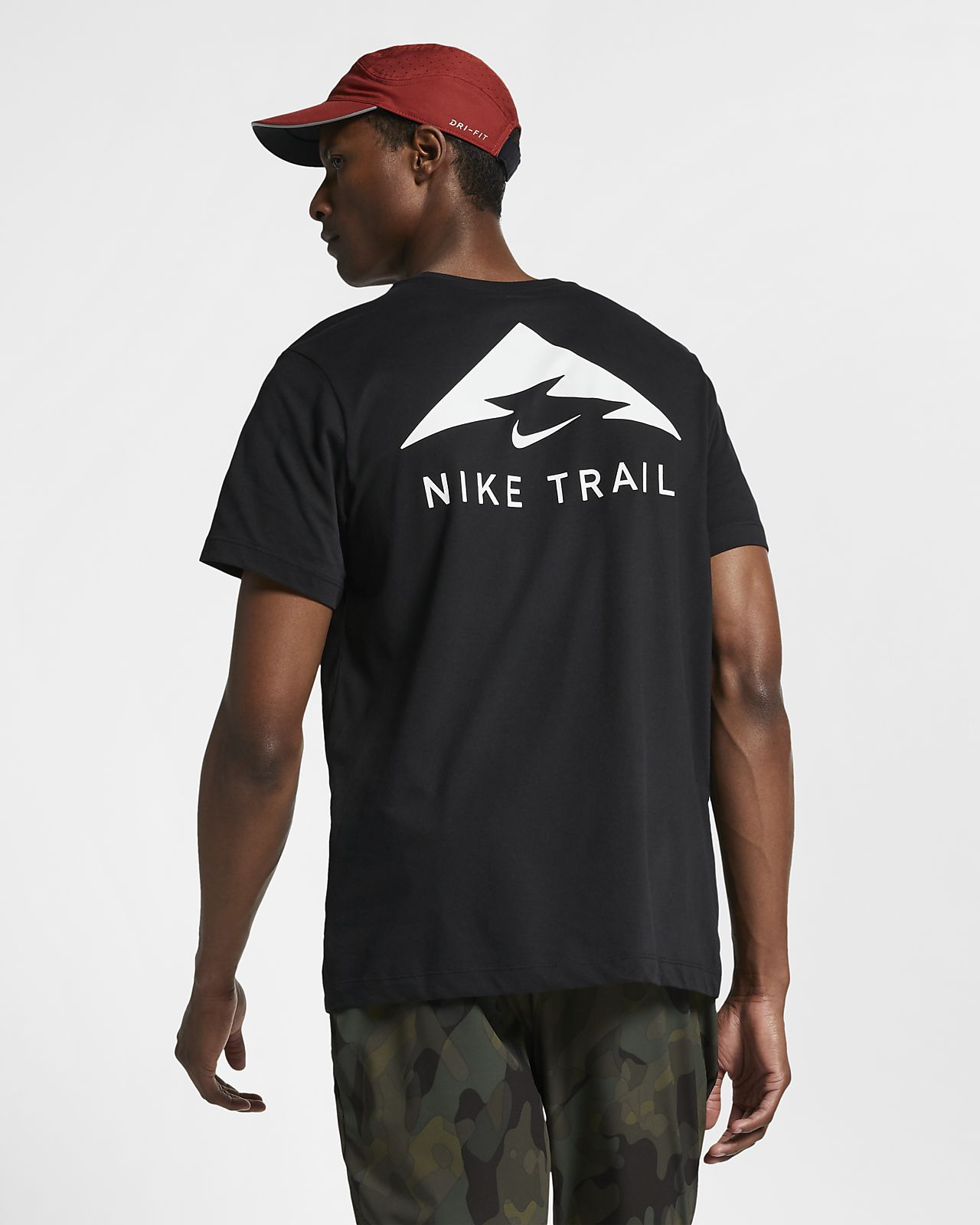 great prices classic shoes no sale tax Nike Trail Dri-FIT Men's Running T-Shirt