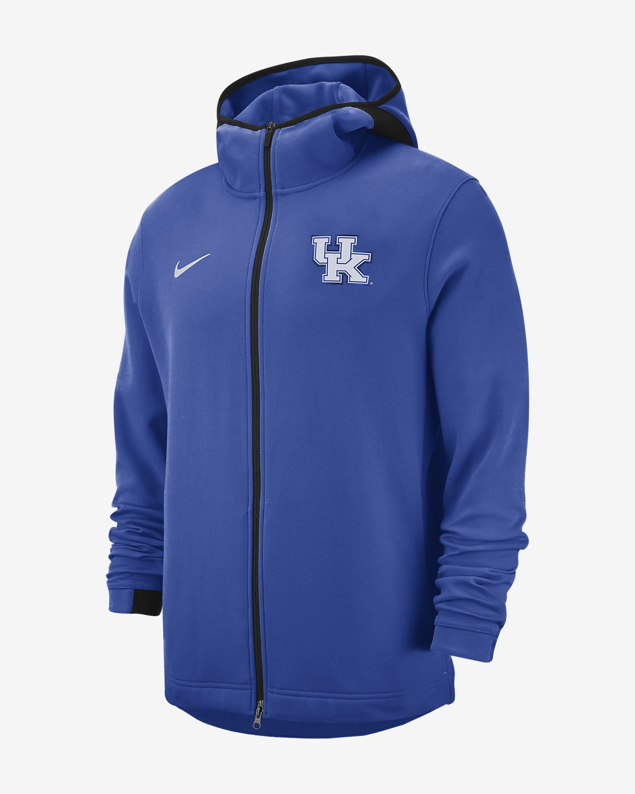 Nike College Dri-FIT Showtime (Kentucky) Men's Full-Zip Basketball Hoodie