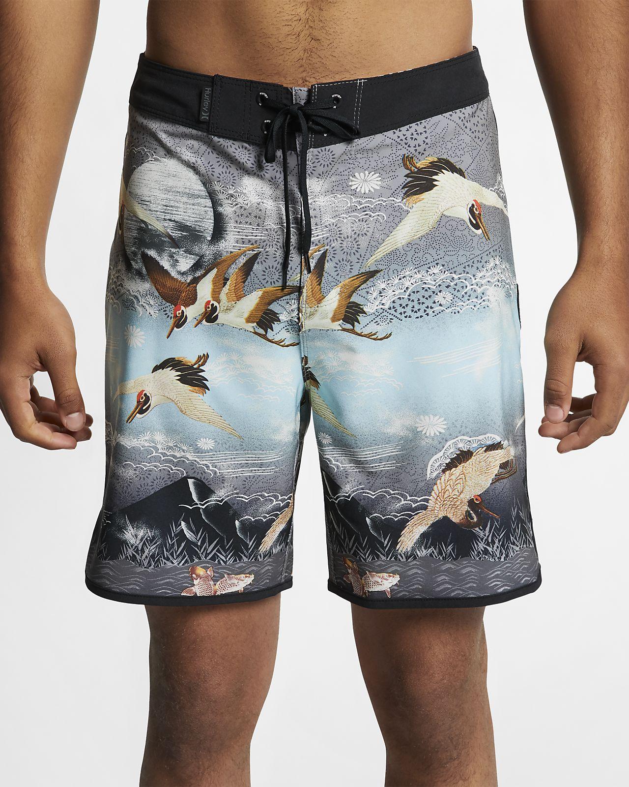 Shorts de playa de 46 cm para hombre Hurley Phantom Crown