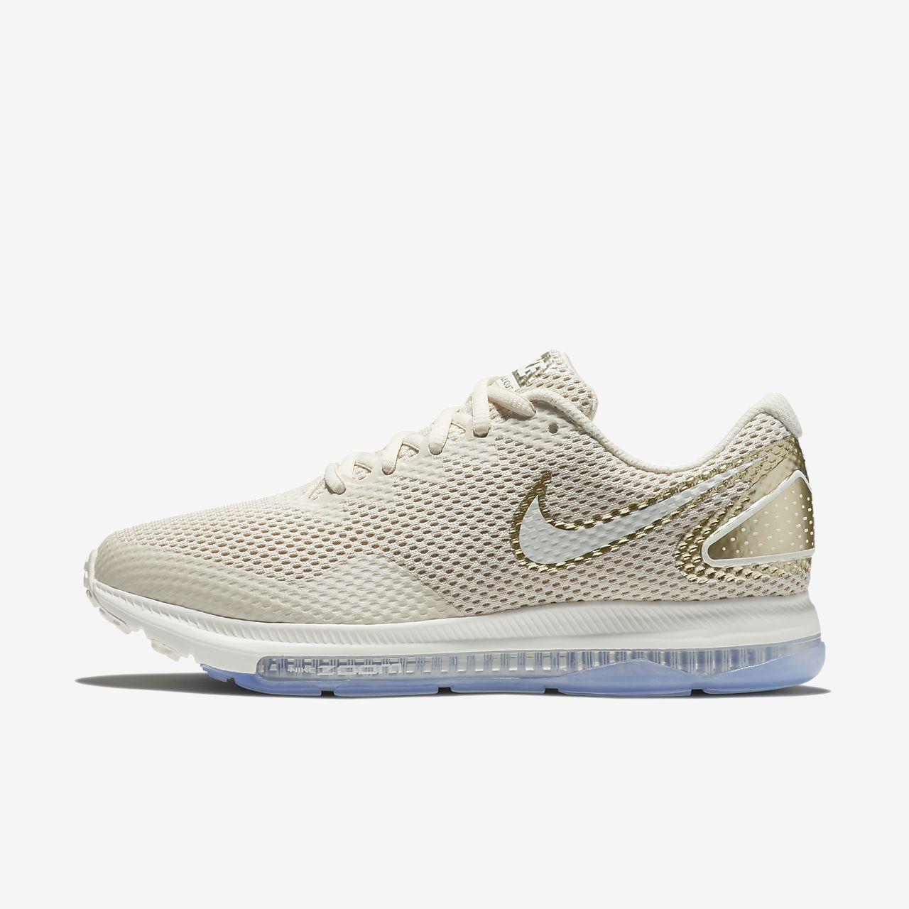 Womens Nike Zoom All Out Low 2 Light Cream/Sail/Metallic Gold Star AJ0036 202