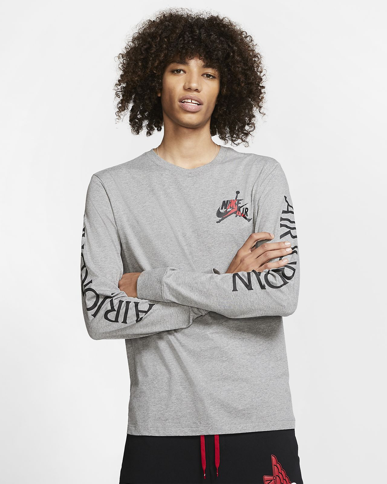 Jordan Classics Men's Long-Sleeve Crew