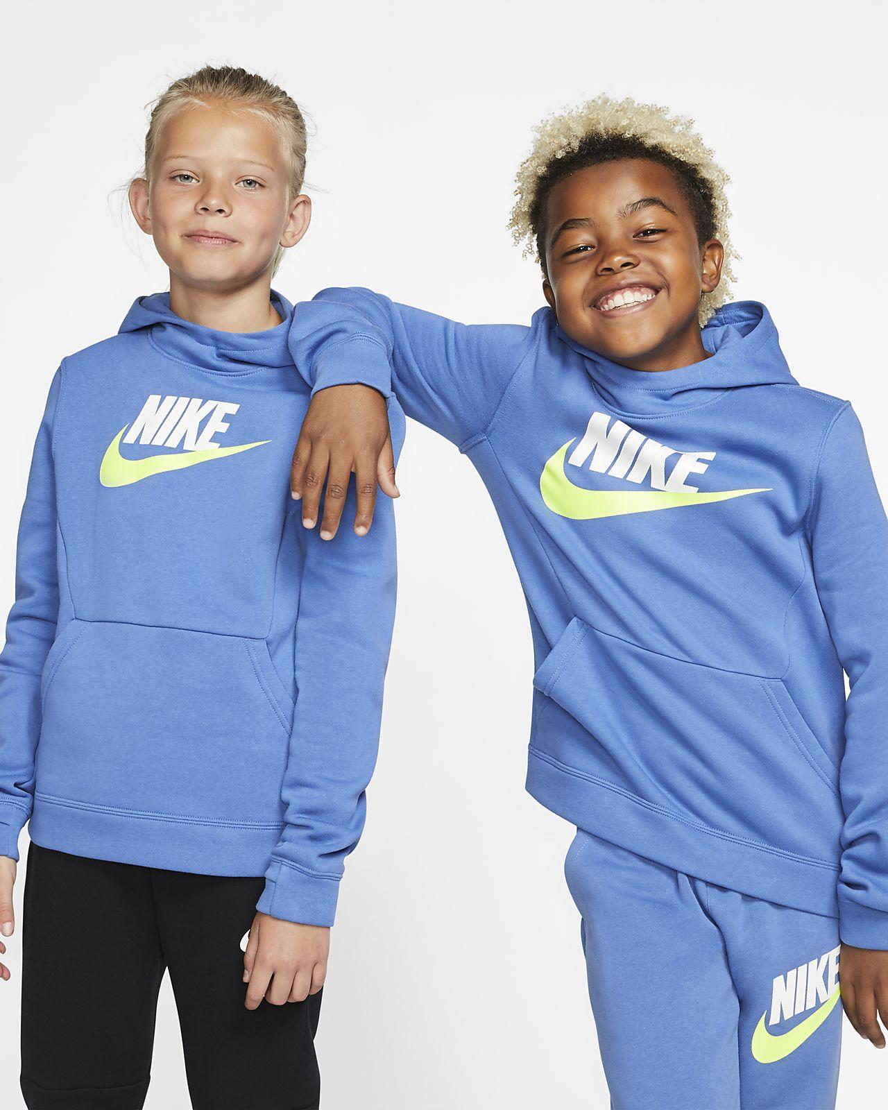 Nike Sportswear Big Kids' Fleece Pullover Hoodie