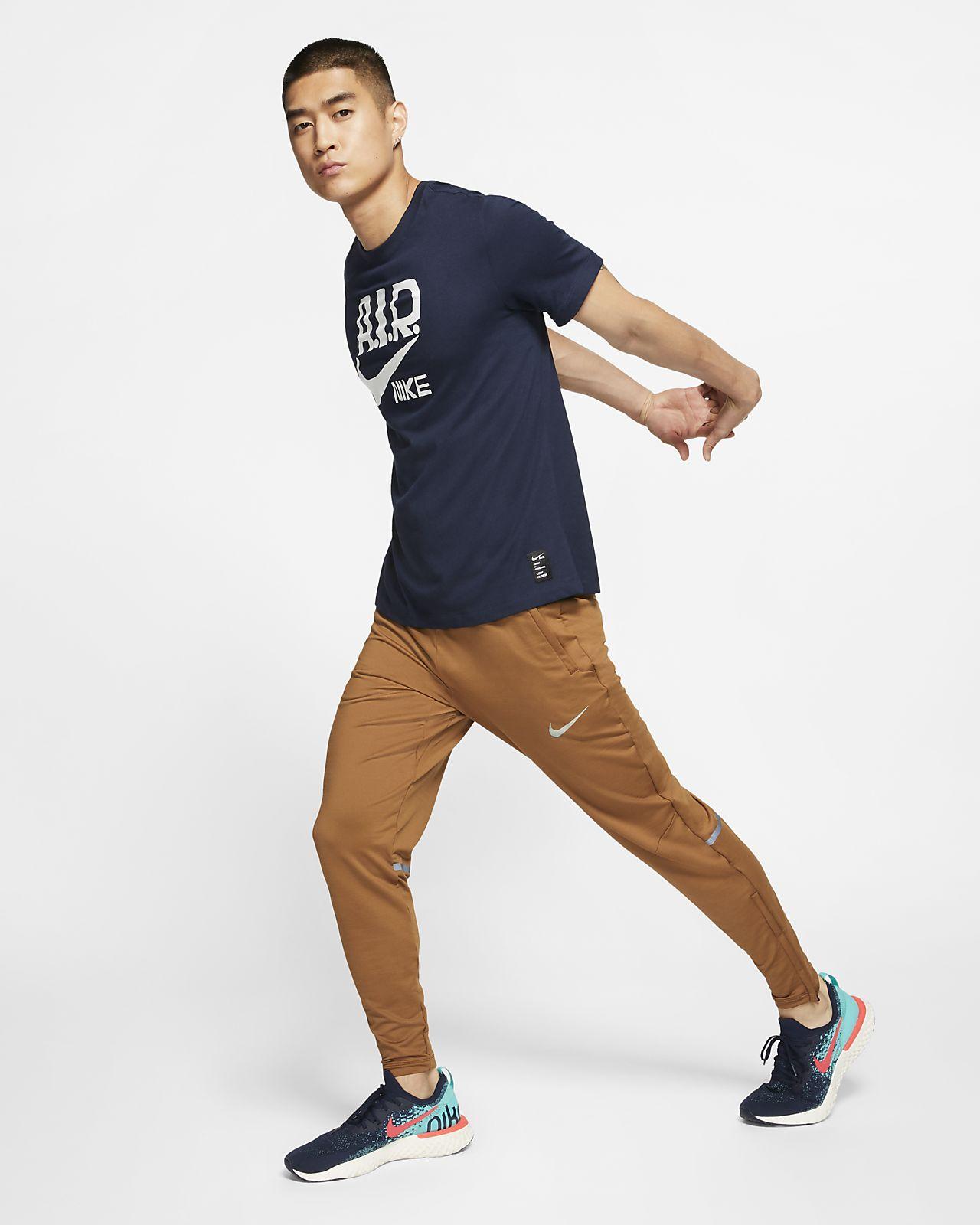 Nike Dri FIT A.I.R. Cody Hudson Lauf T Shirt für Herren