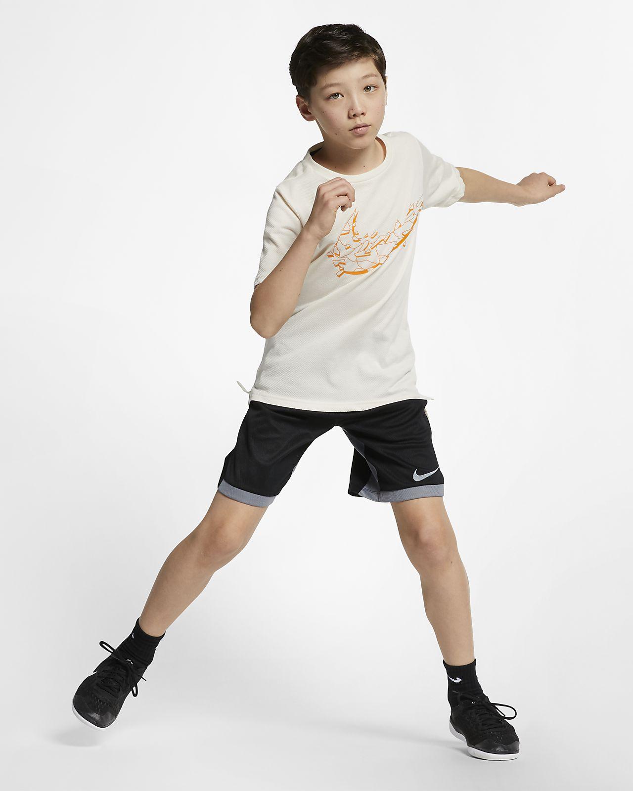 info for a7b77 f034d ... Kortärmad träningströja Nike Breathe för killar