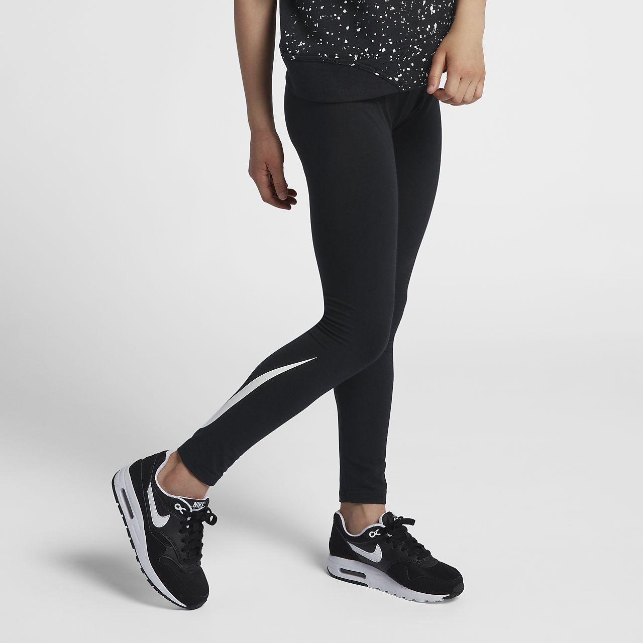 ... Nike Club Logo Big Kids\u0027 (Girls\u0027) Leggings