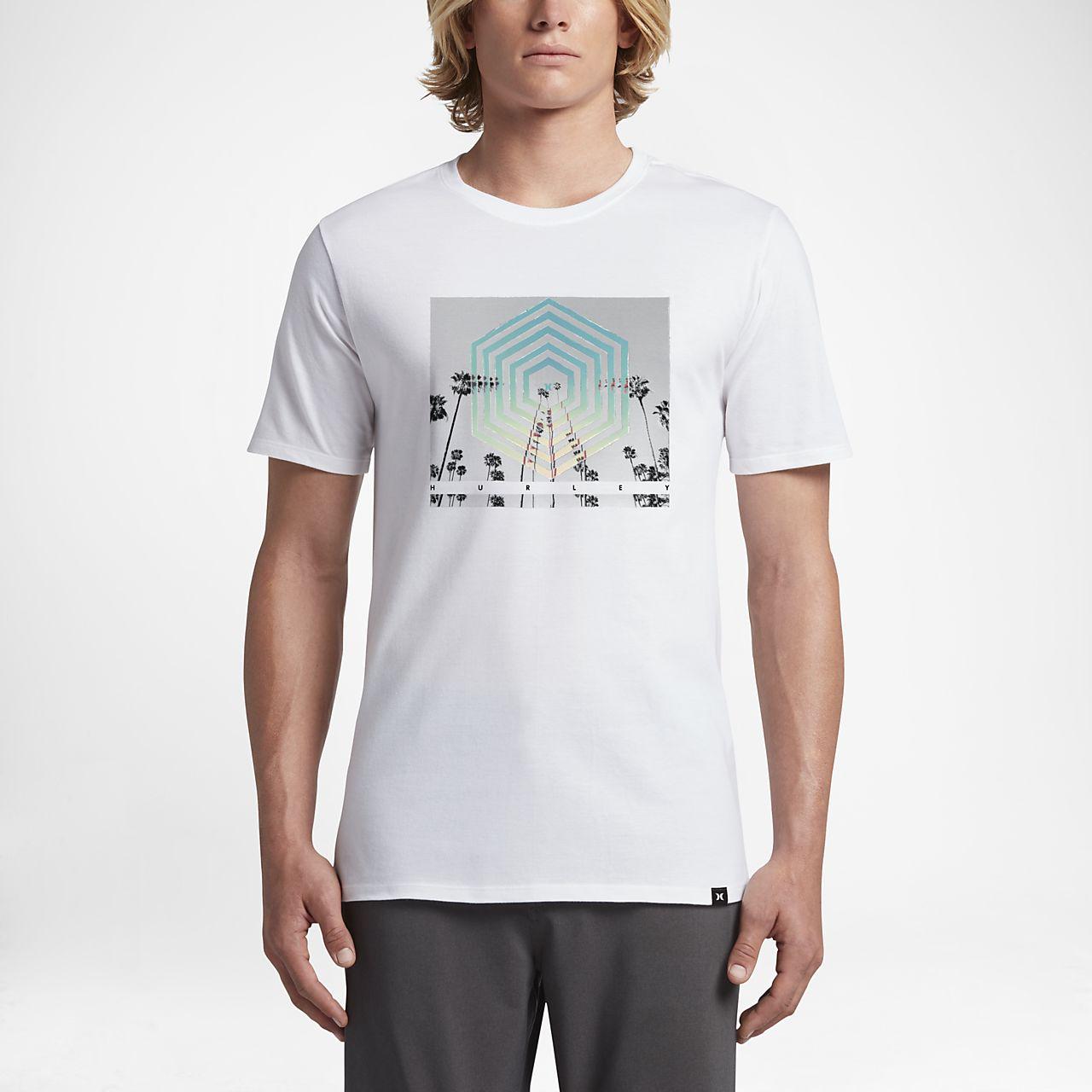 ... Hurley Cutter Hex Men's T-Shirt