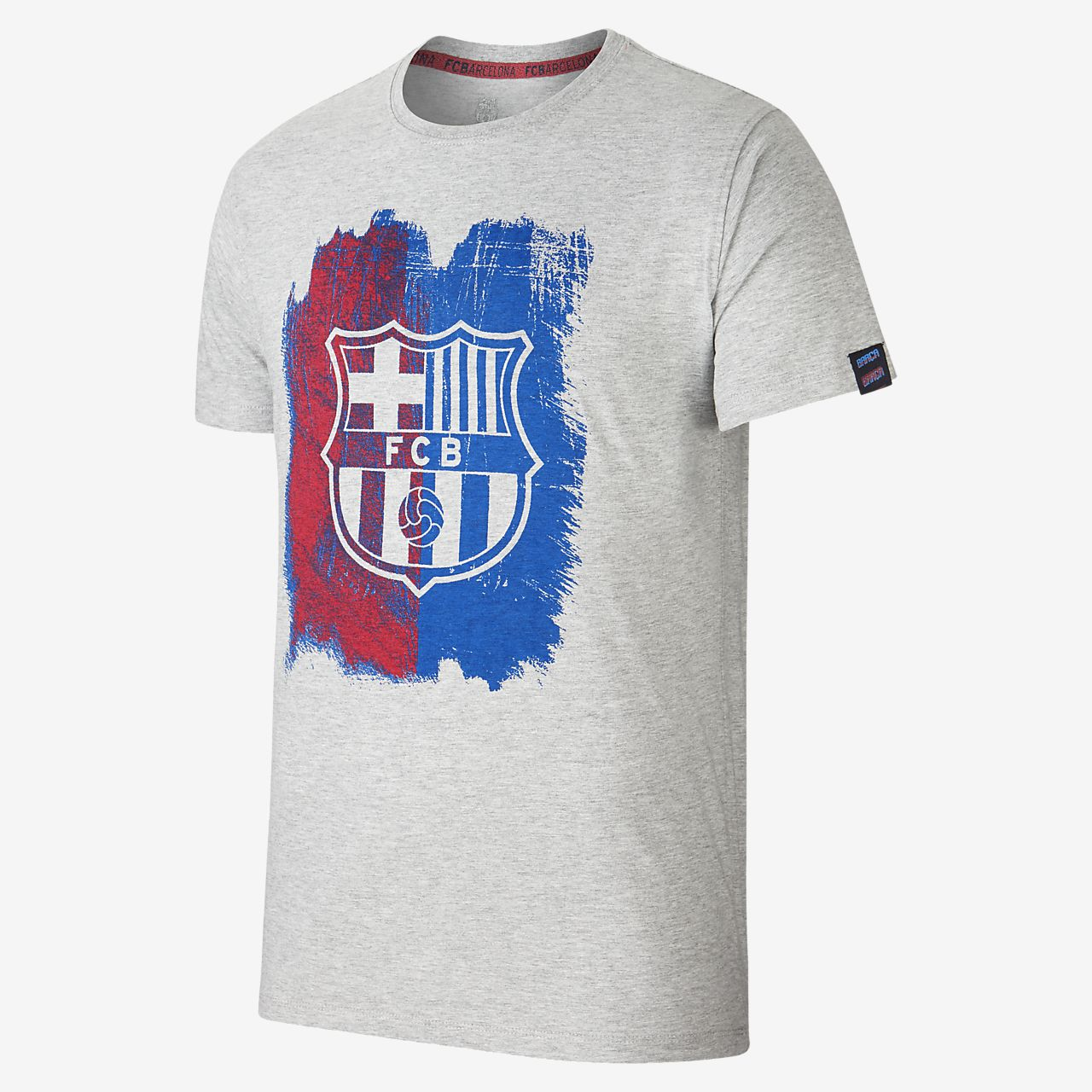 80ab0021760 FC Barcelona Painted Men s T-Shirt. Nike.com GB
