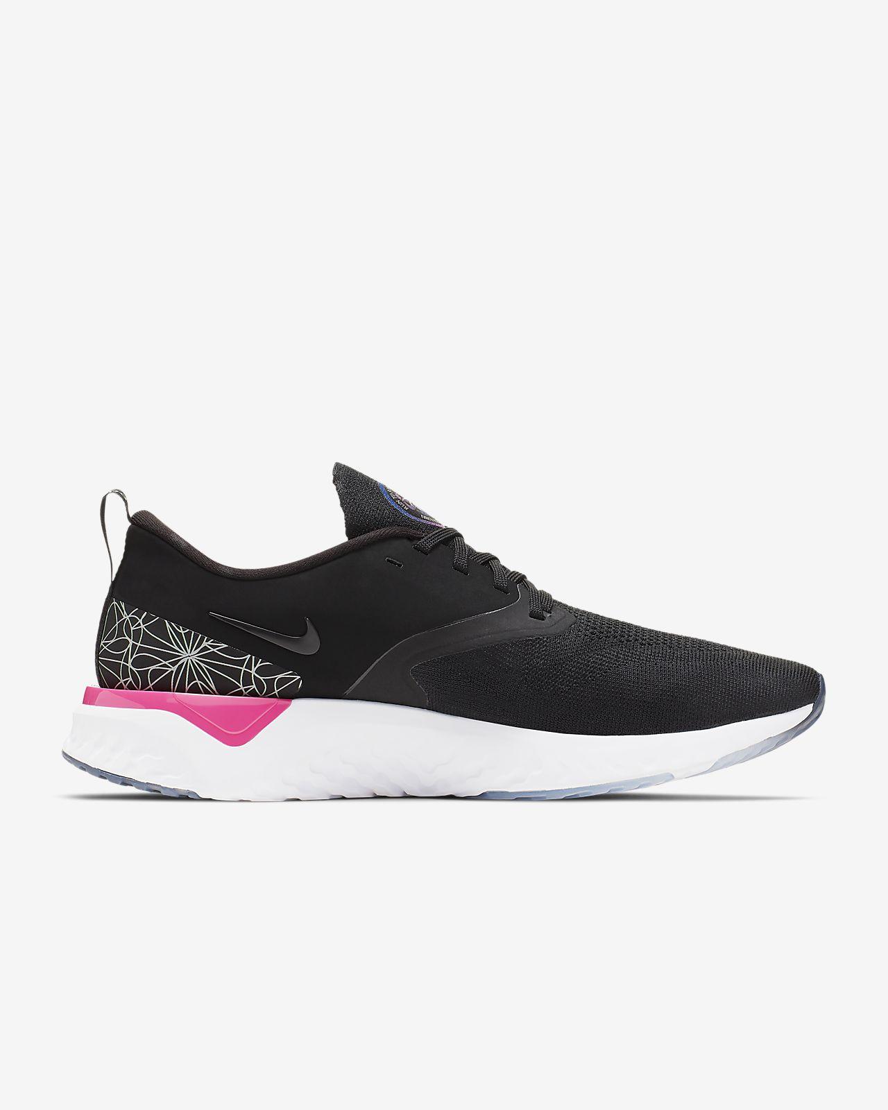 Nike Odyssey React Flyknit 2 Men\u0027s Graphic Running Shoe