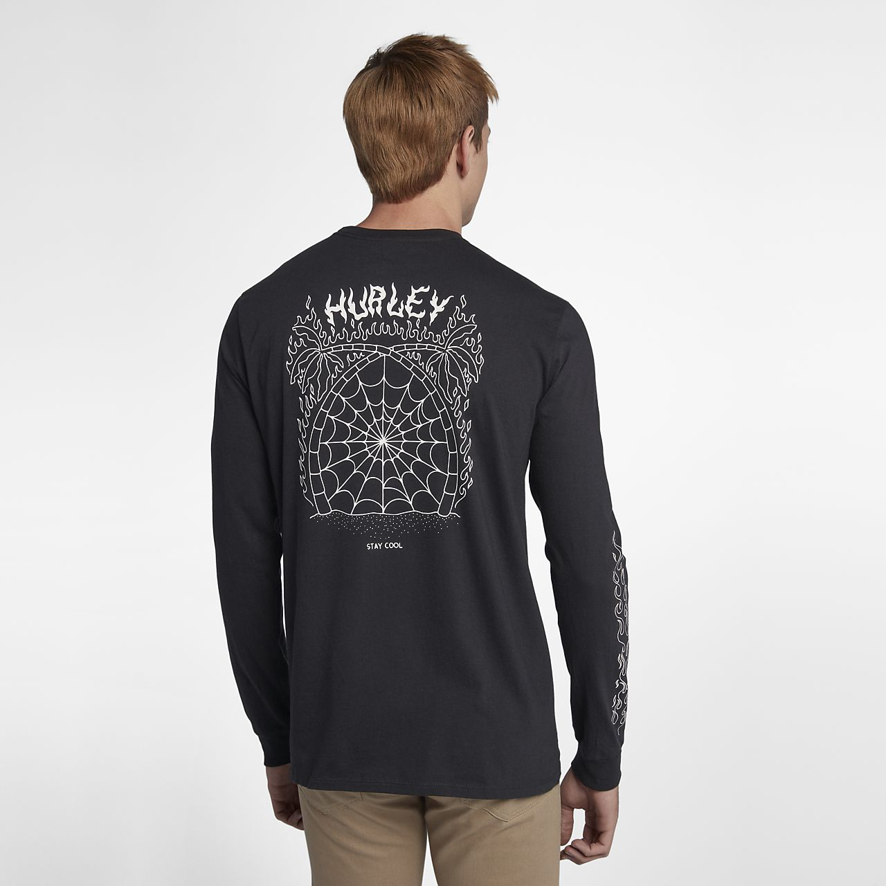 Hurley Stay Cool Men's Long Sleeve T-Shirt. Nike.com