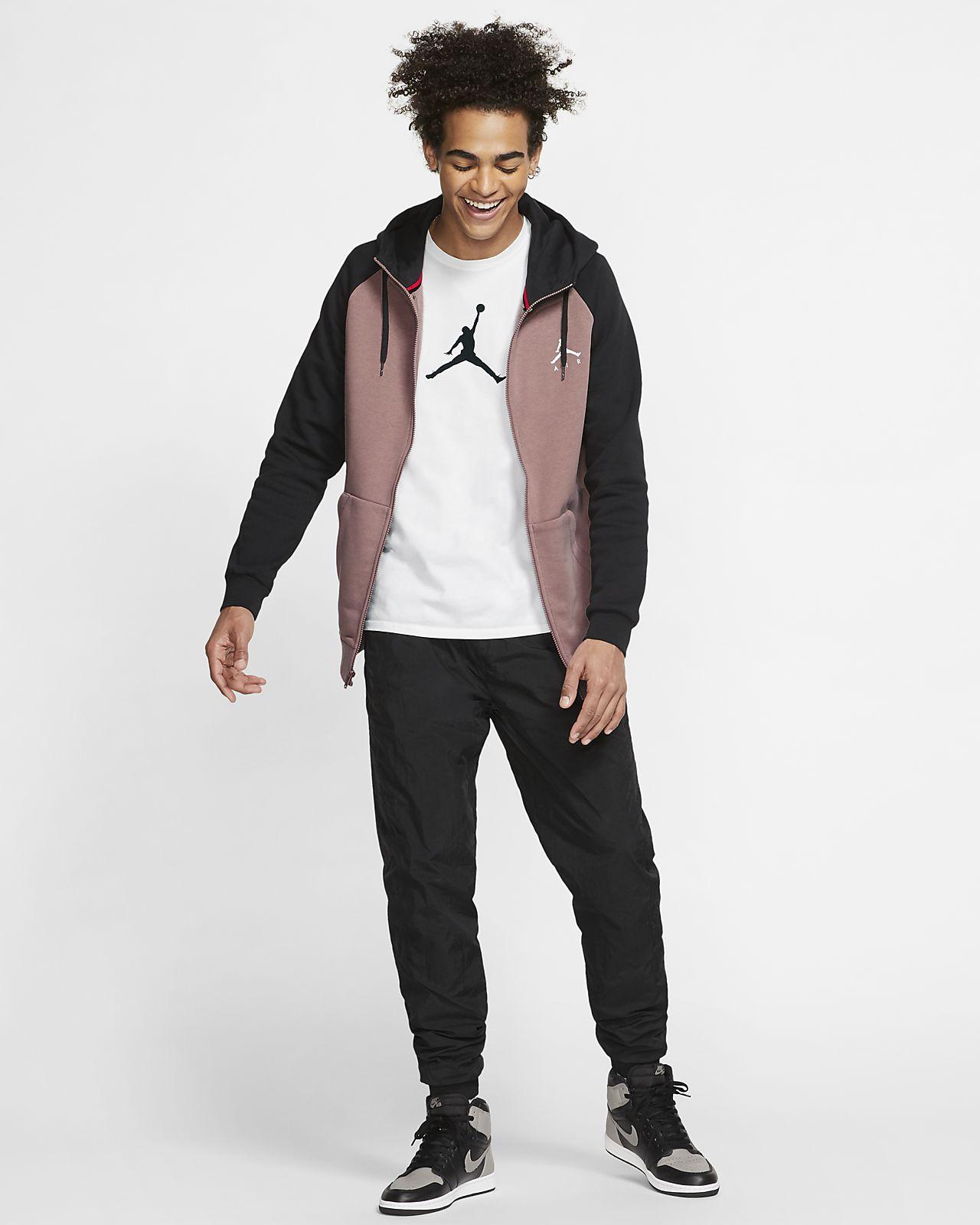 e8bcfa50047732 Jordan Jumpman Men s Fleece Full-Zip Hoodie. Nike.com
