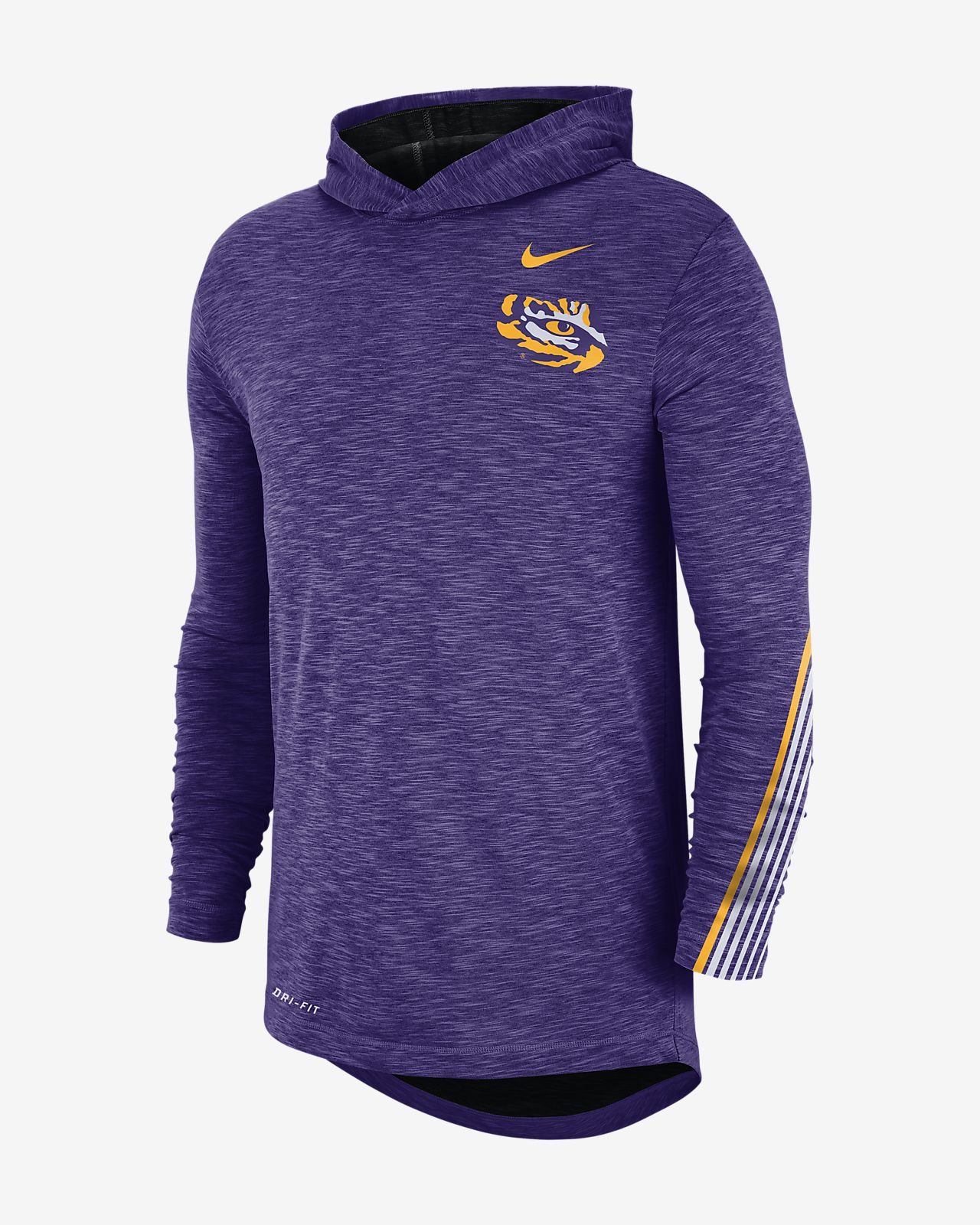 Nike College (LSU) Men's Long-Sleeve Hooded T-Shirt
