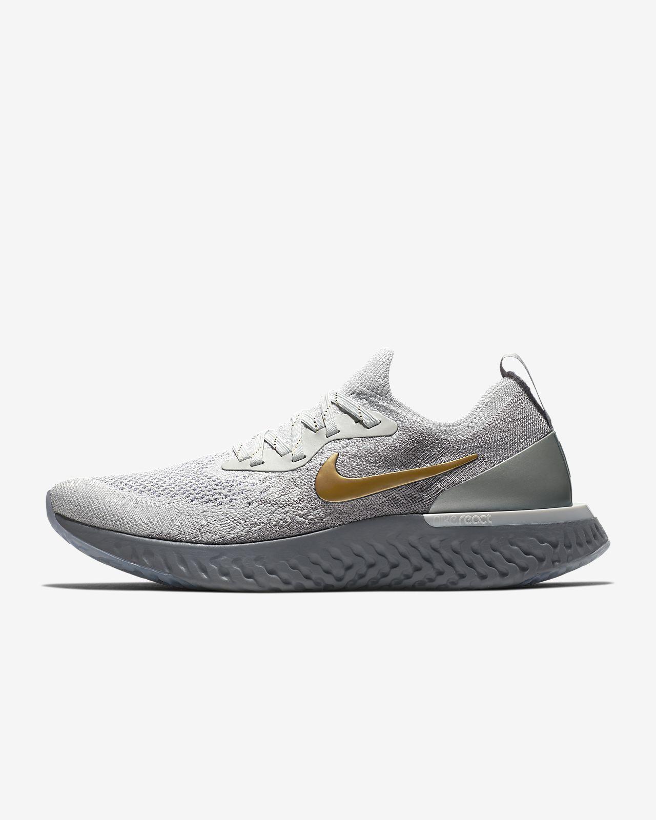 Nike Epic React Flyknit Metallic Premium Women s Running Shoe. Nike ... e3212761d38