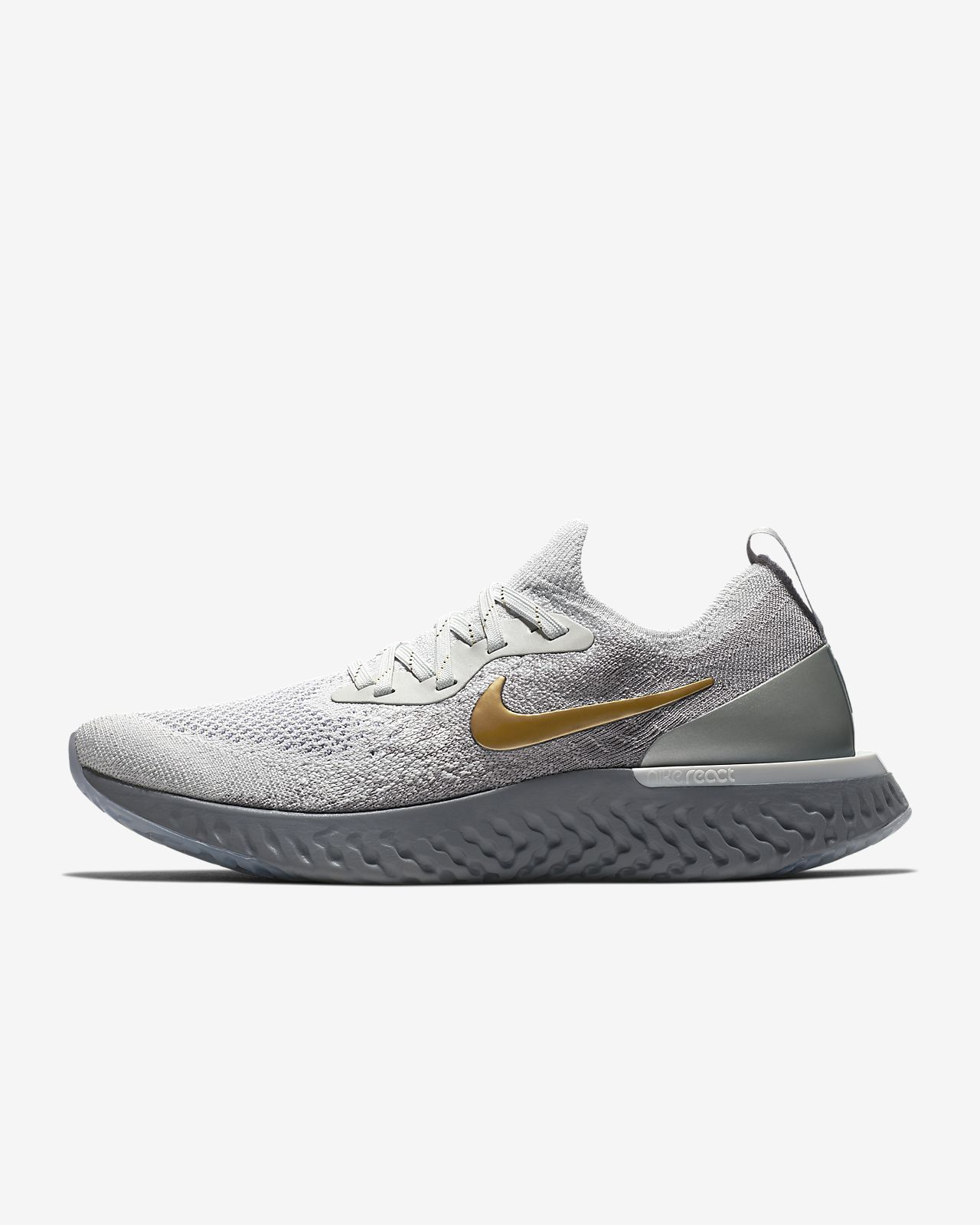 Nike Epic React Flyknit Metallic Premium Women s Running Shoe. Nike ... dcde167c3f5