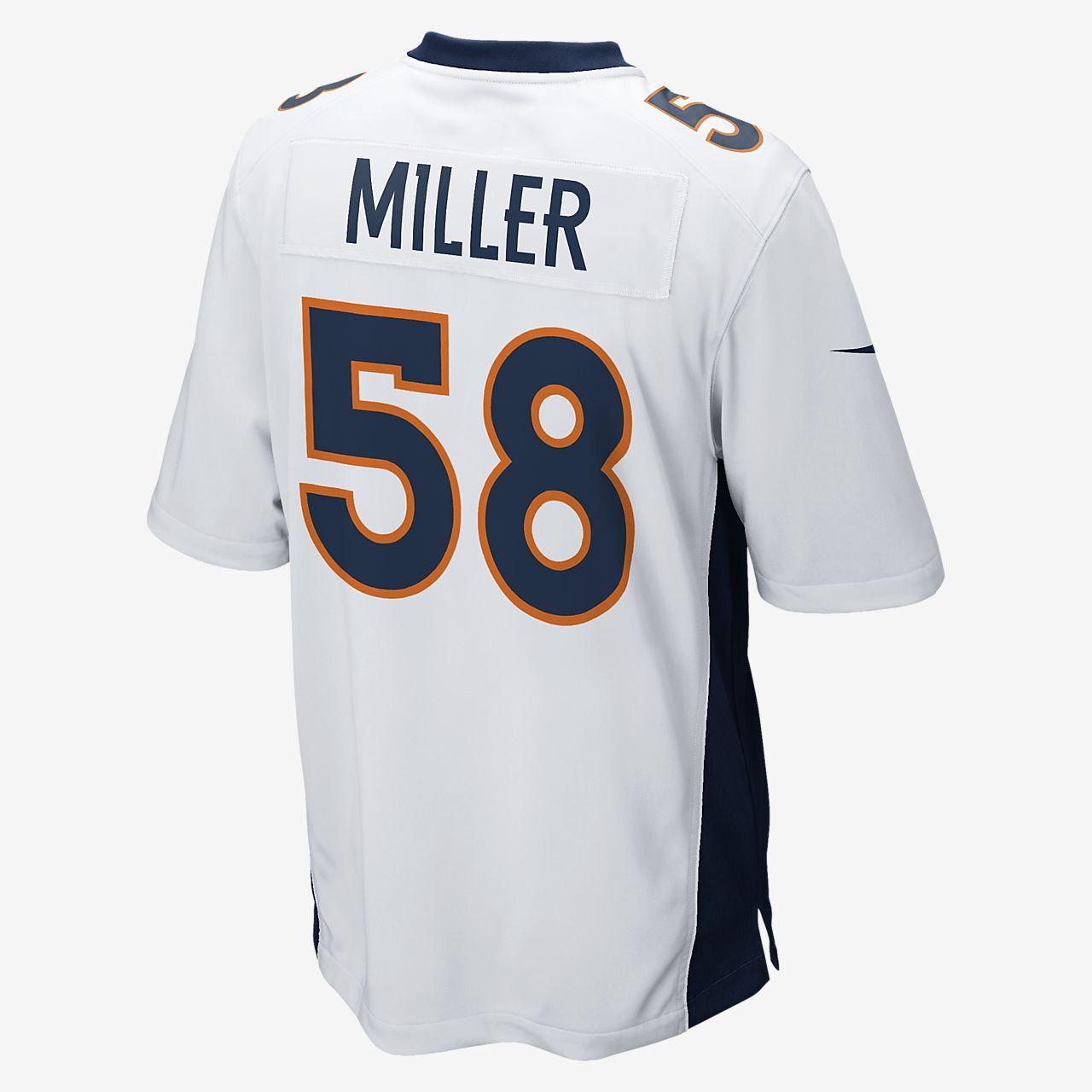 639cb5300 NFL Denver Broncos (Von Miller) Men s Game Football Jersey. Nike.com