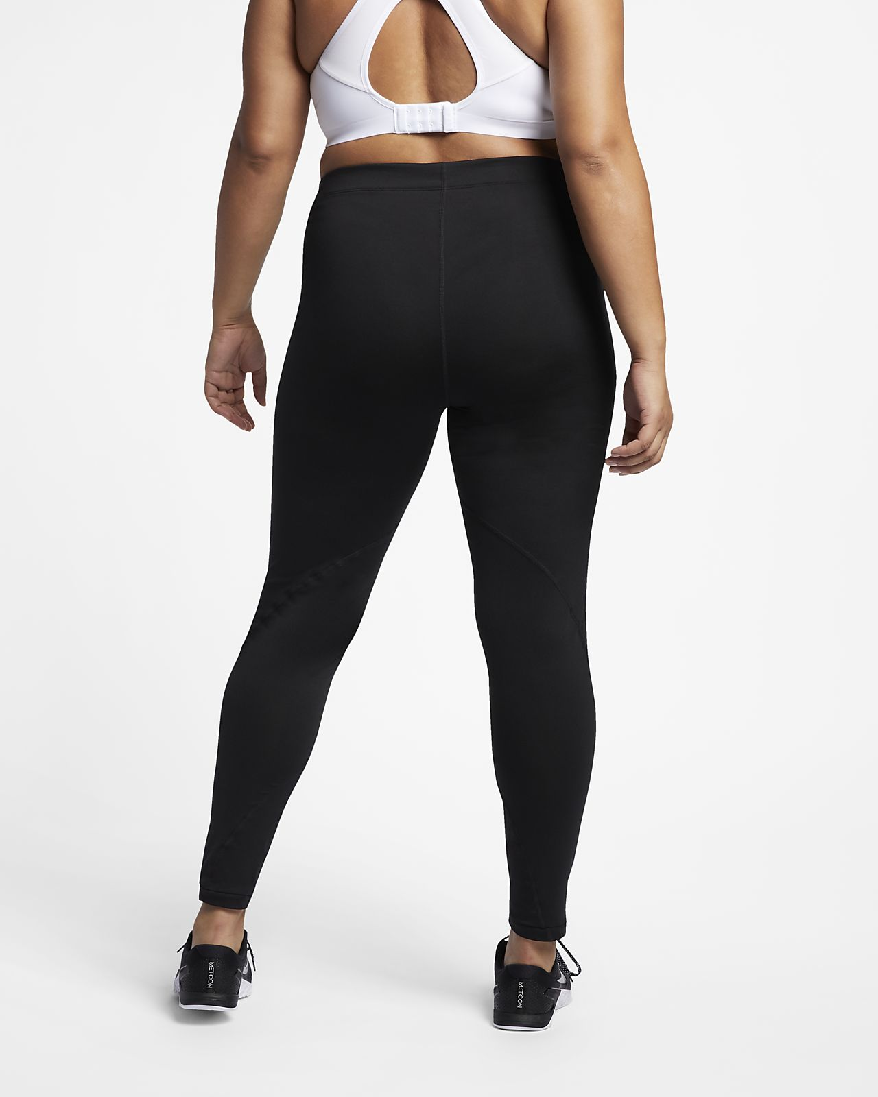 2d54a198a97e4b Nike Pro Women's Mid-Rise Training Tights (Plus Size). Nike.com SI