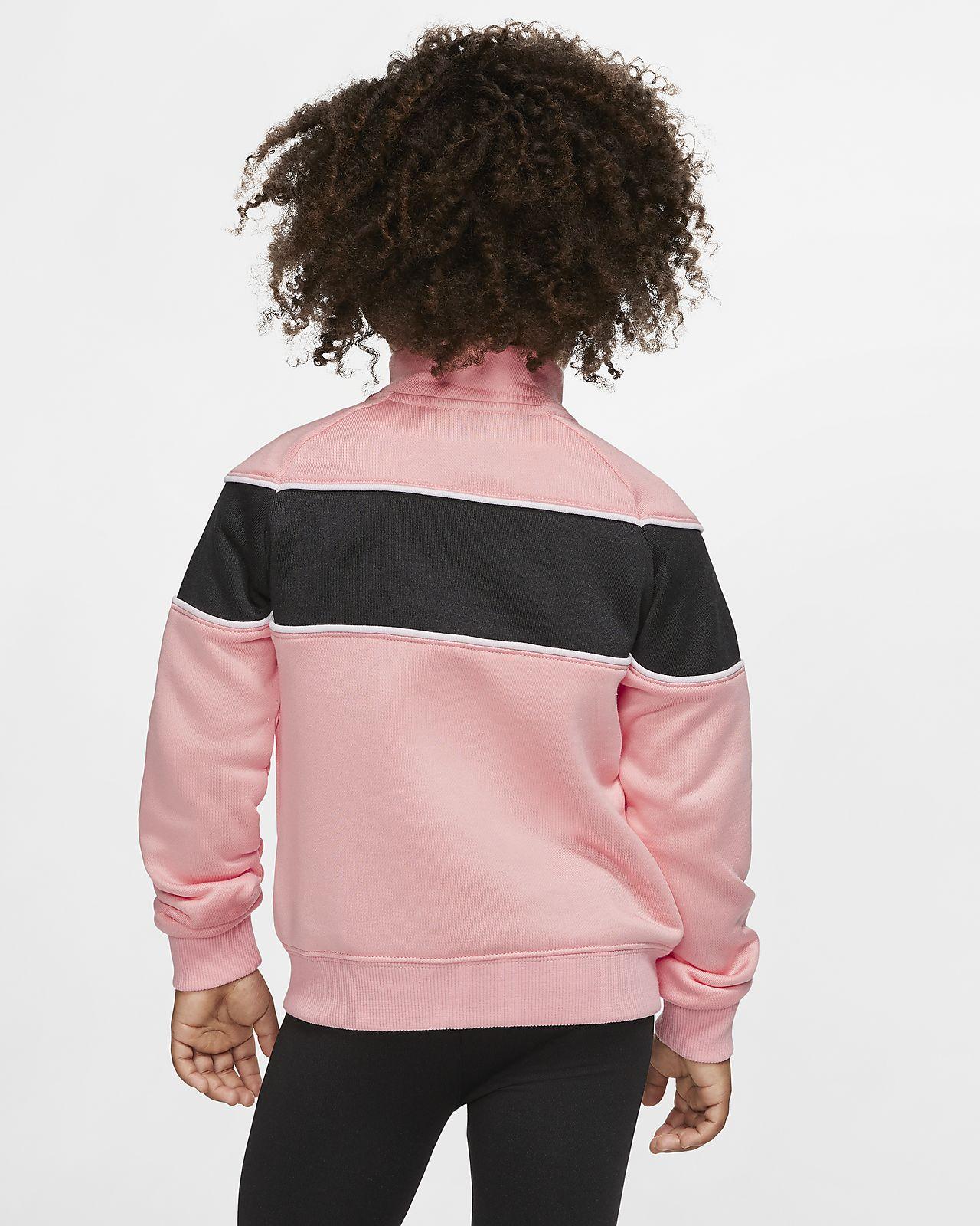 Jacka Nike Sportswear med dragkedja i fullängd för små barn