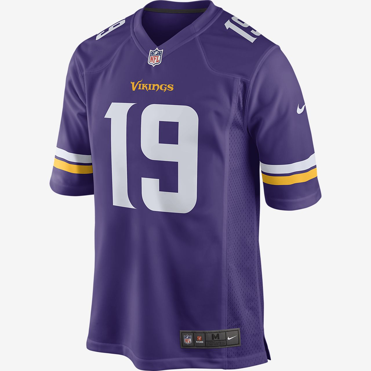 NFL Minnesota Vikings Game (Adam Thielen)-fodboldtrøje til mænd