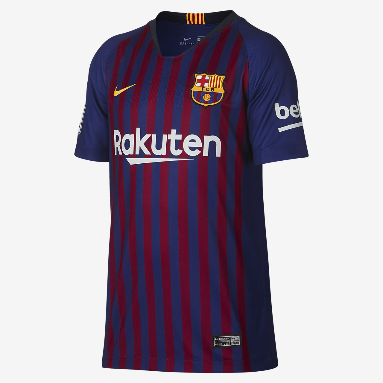 88cf846a4 ... reduced 2018 19 fc barcelona stadium home philippe coutinho big kids  soccer jersey 56809 f7d41