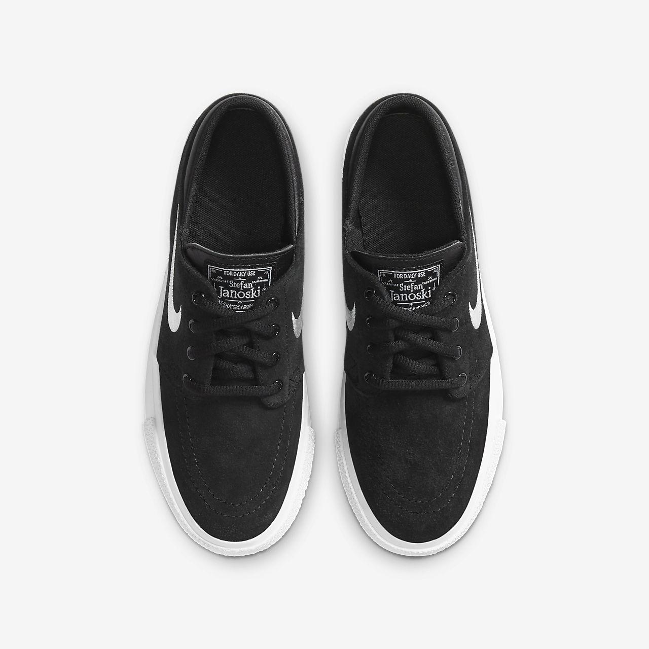 zapatillas nike niño negras skate