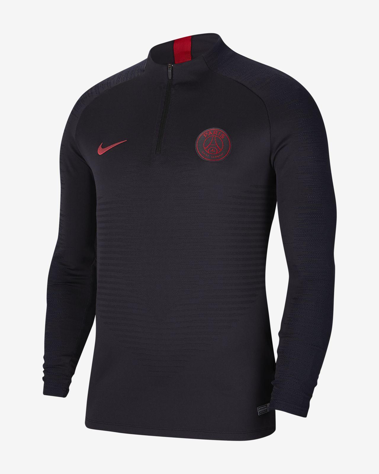 Nike VaporKnit Paris Saint Germain Strike Drill Fußballoberteil für Herren