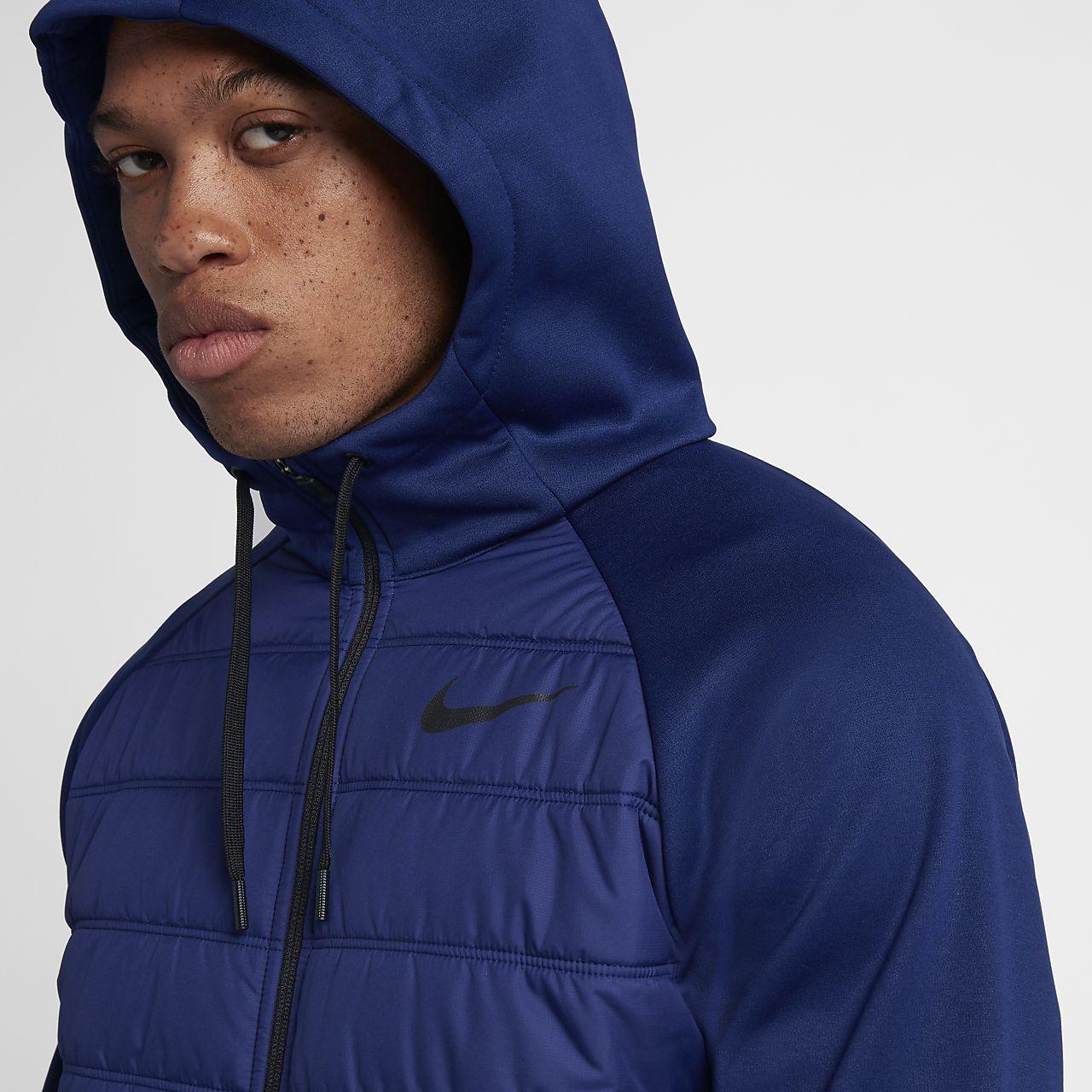 df2fe328dadb Nike Therma Winterized Men s Full-Zip Hoodie. Nike.com