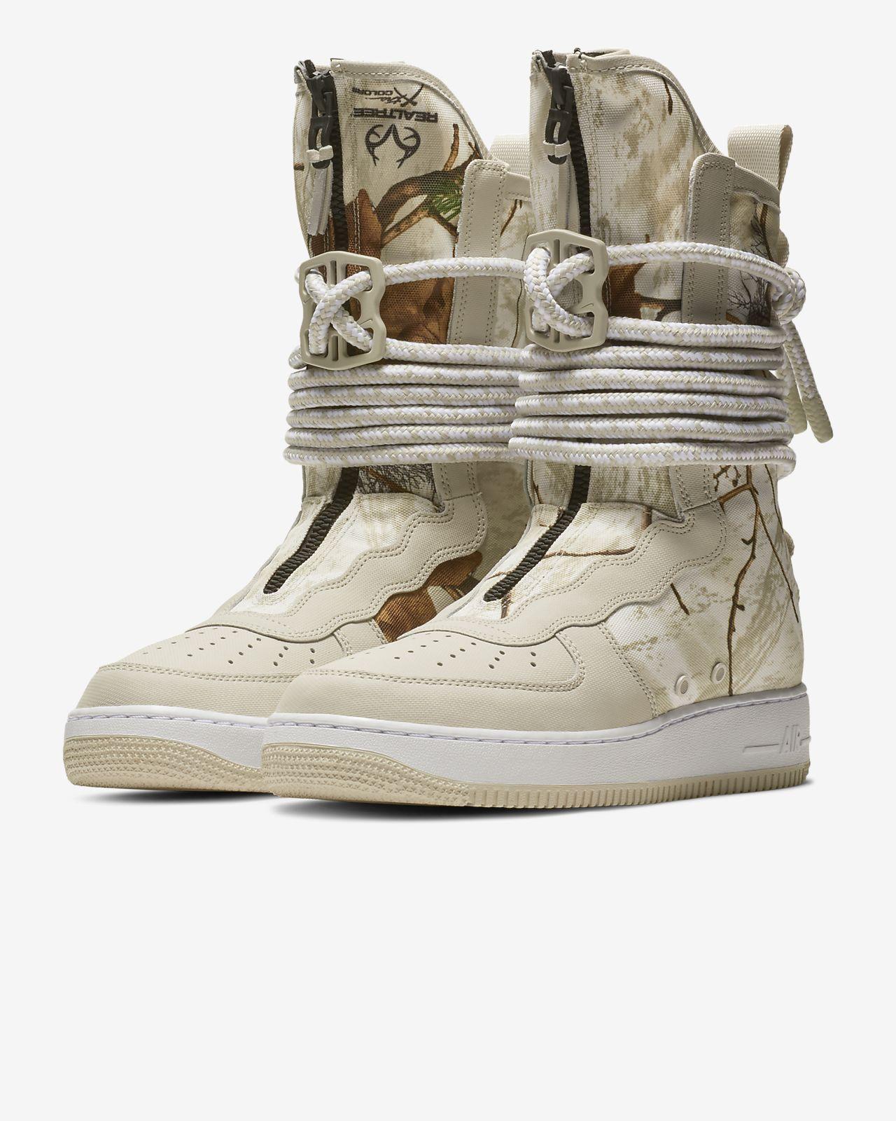 san francisco f01a8 686ae ... Nike SF Air Force 1 High Realtree® Men s Boot