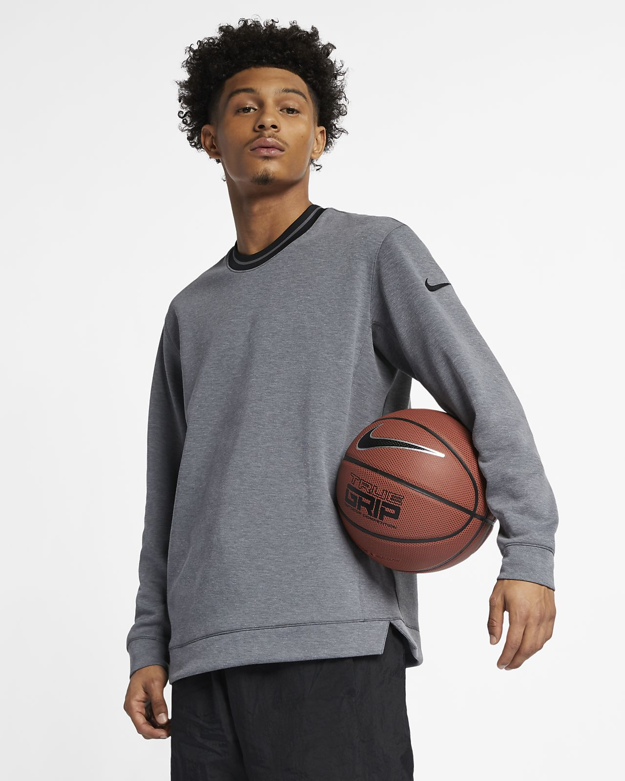 4521f1ff Nike Dri-FIT Men's Long-Sleeve Basketball Top. Nike.com AU
