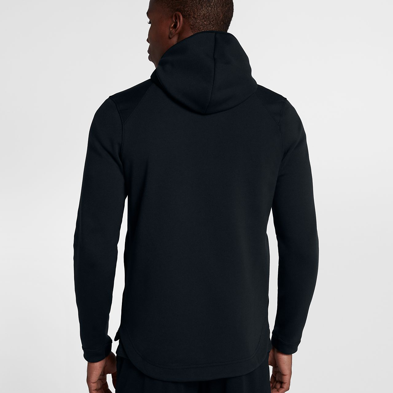 ... Nike Dry Hyper Elite Showtime Men's Full Zip Basketball Hoodie