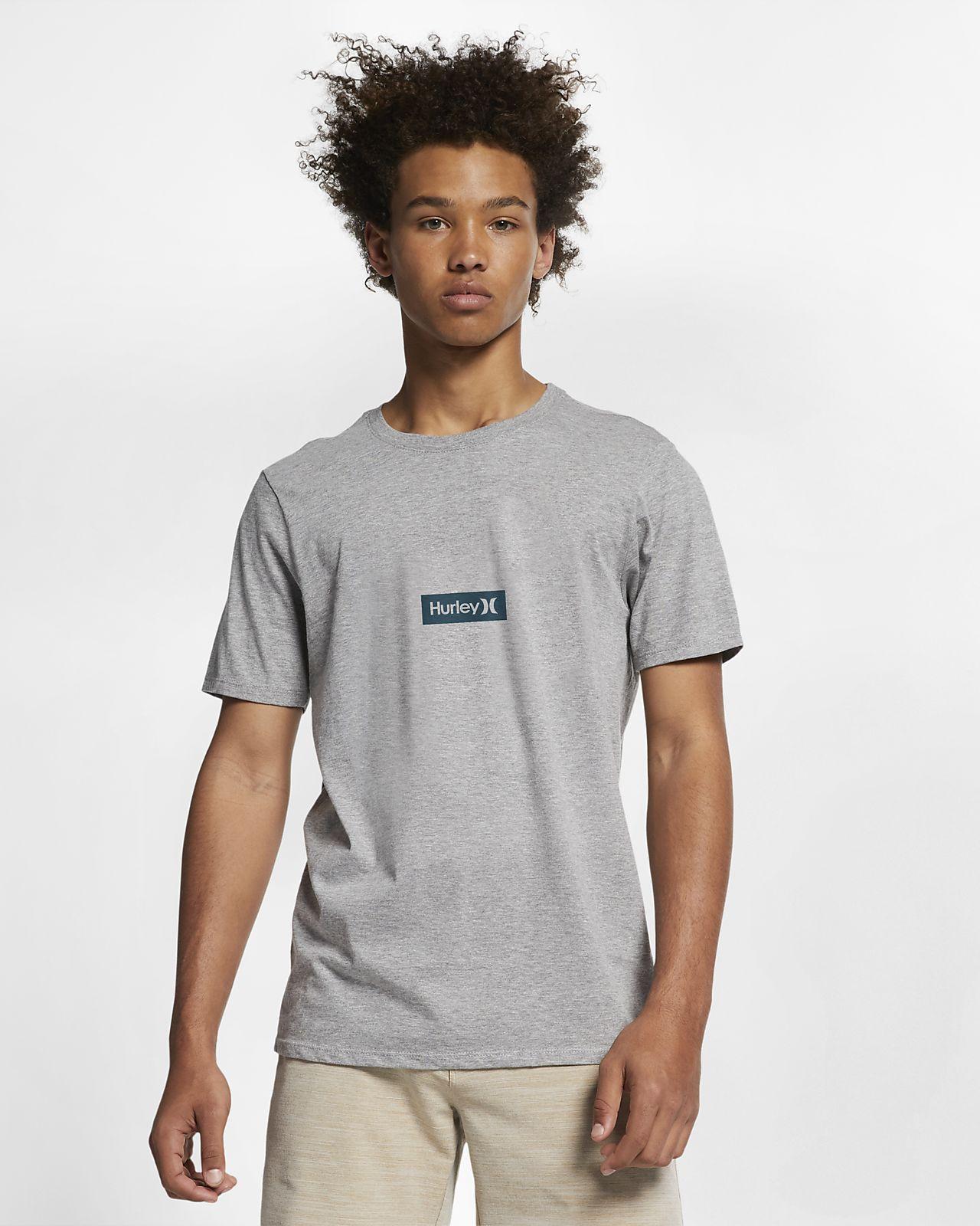 Hurley Premium One And Only Small Box T-shirt met premium pasvorm voor heren