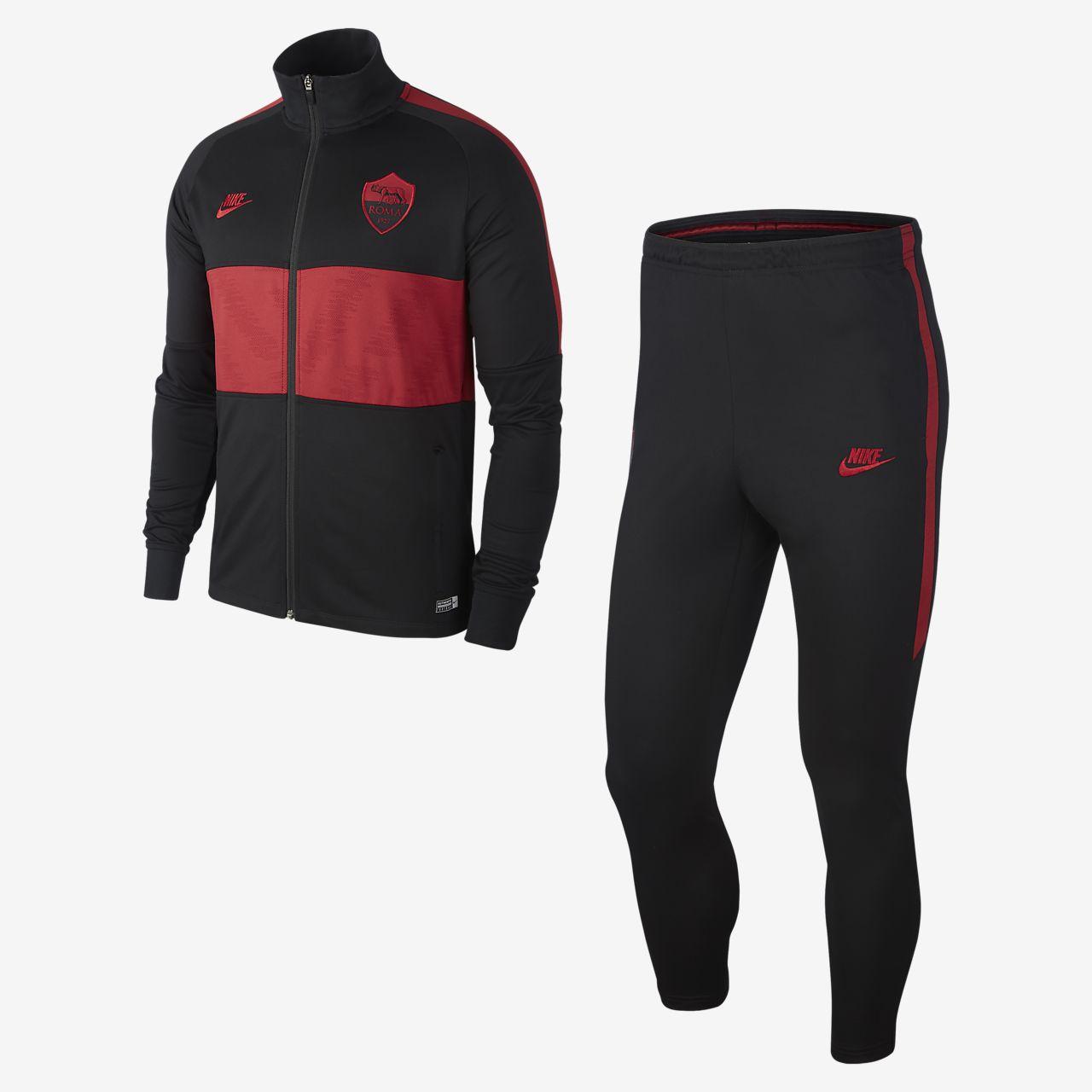 A.S. Roma Strike-fodboldtræningsdragt til mænd