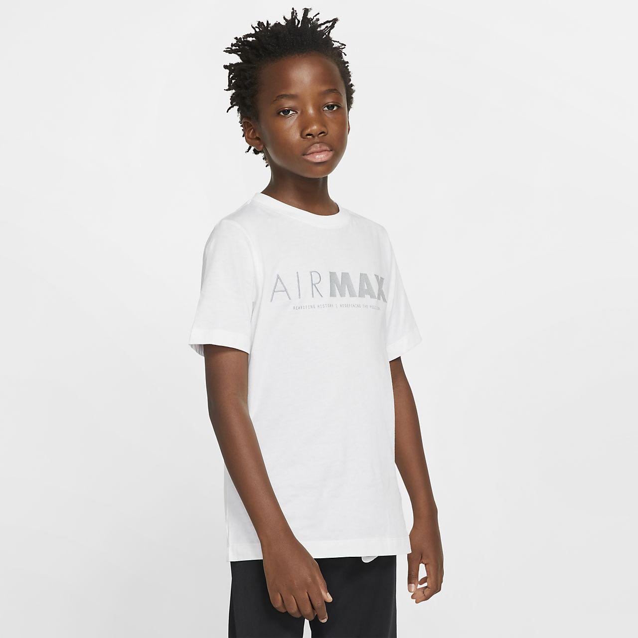 Tee-shirt à manches courtes Nike Sportswear Air Max pour Enfant plus âgé