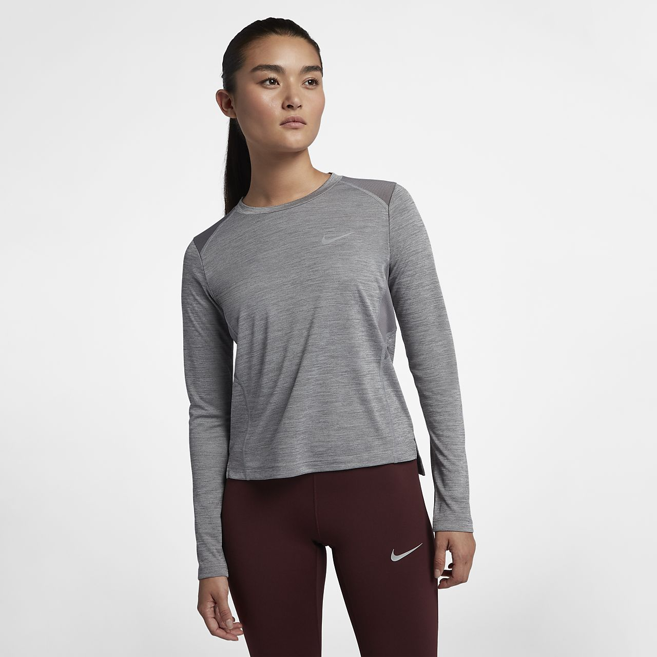 5d702f2d06 Nike Miler Women s Long-Sleeve Top. Nike.com EG