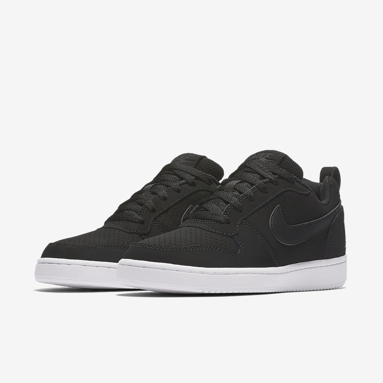 nike court borough low femme blanche