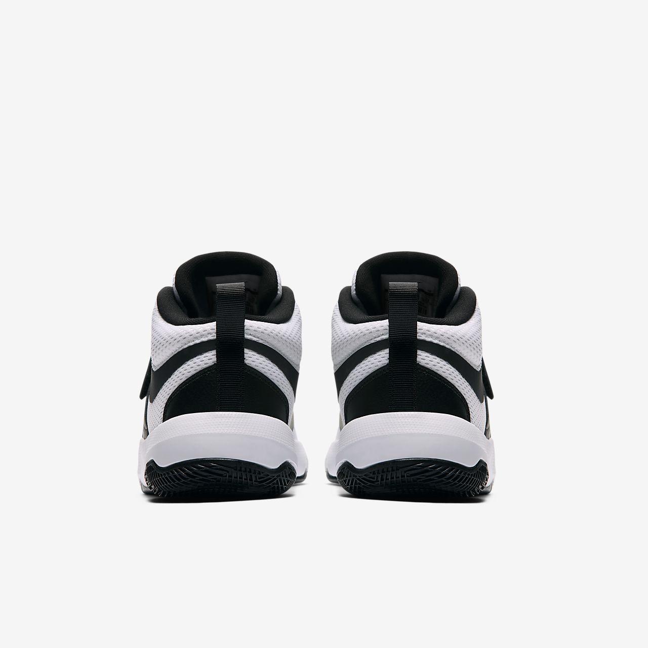 Calzado de básquetbol para niños talla grande Nike Team Hustle D 8