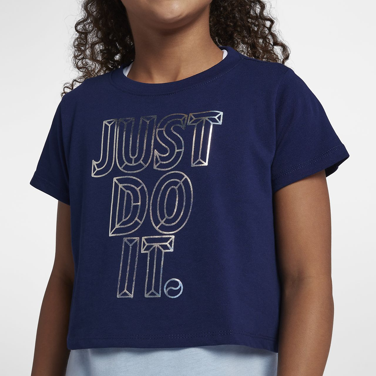 7b989a8bcd1 Nike Sportswear JDI Kort T-shirt voor meisjes. Nike.com NL