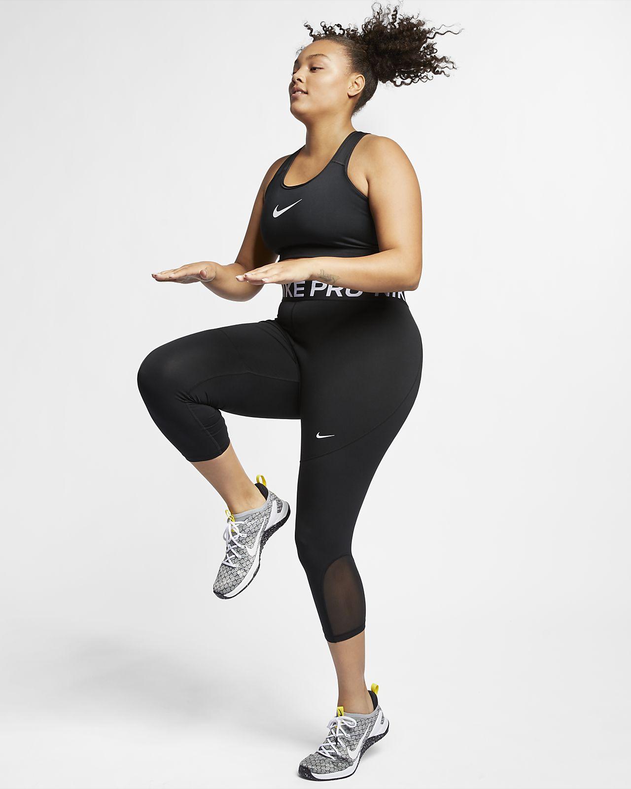 a46e2f839 Nike Women's Swoosh Medium-Support Sports Bra (Plus Size). Nike.com GB