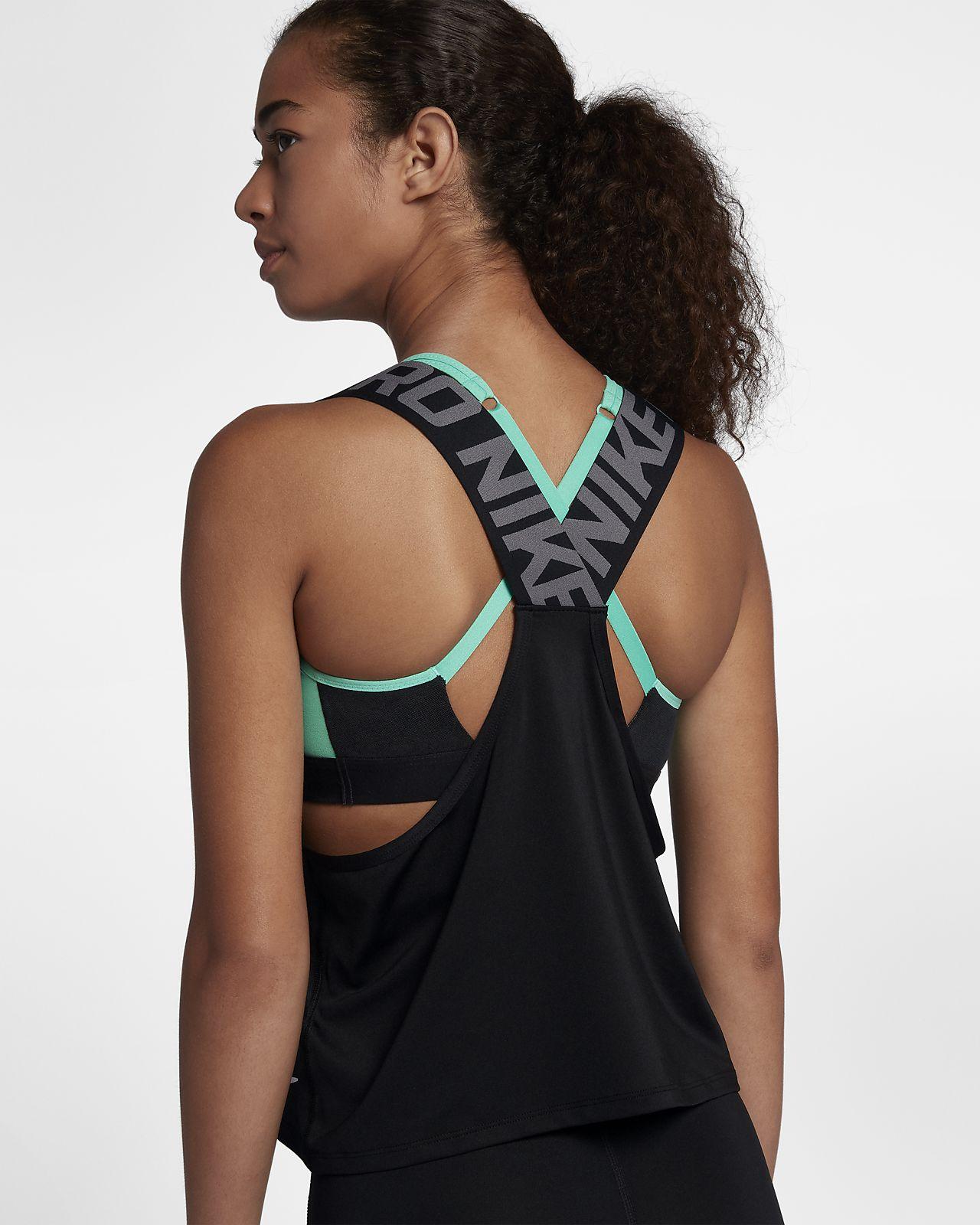 eade06b56e Canotta Nike Pro Intertwist - Donna. Nike.com CH