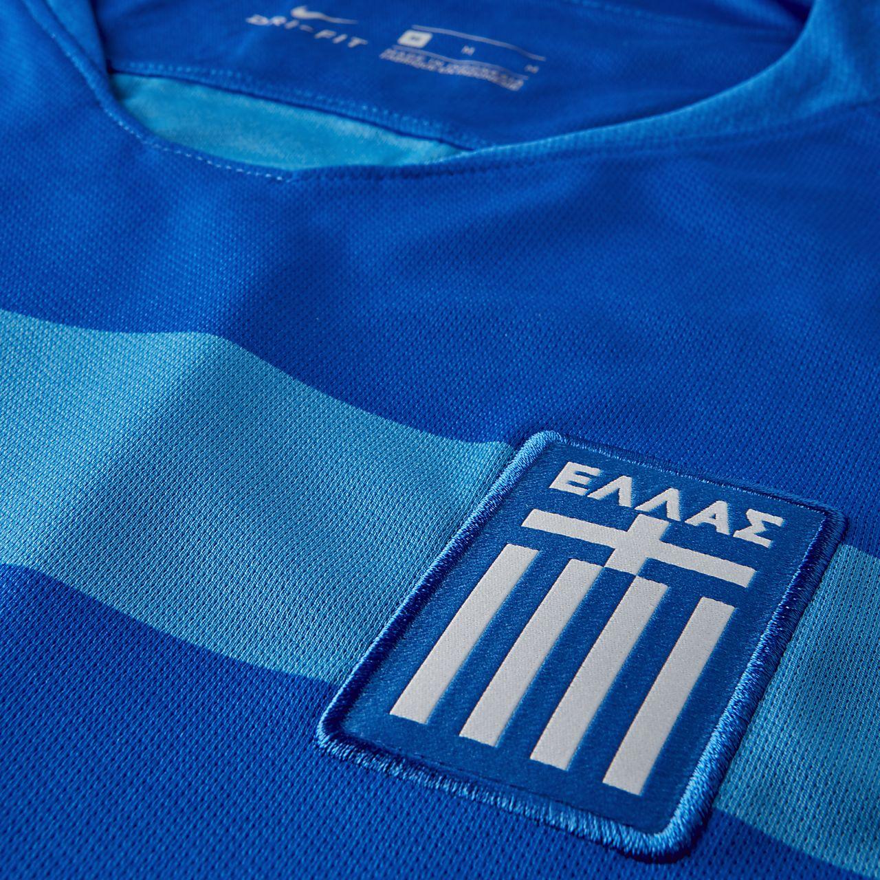 2018 Griechenland Stadium Away Herren Fußballtrikot