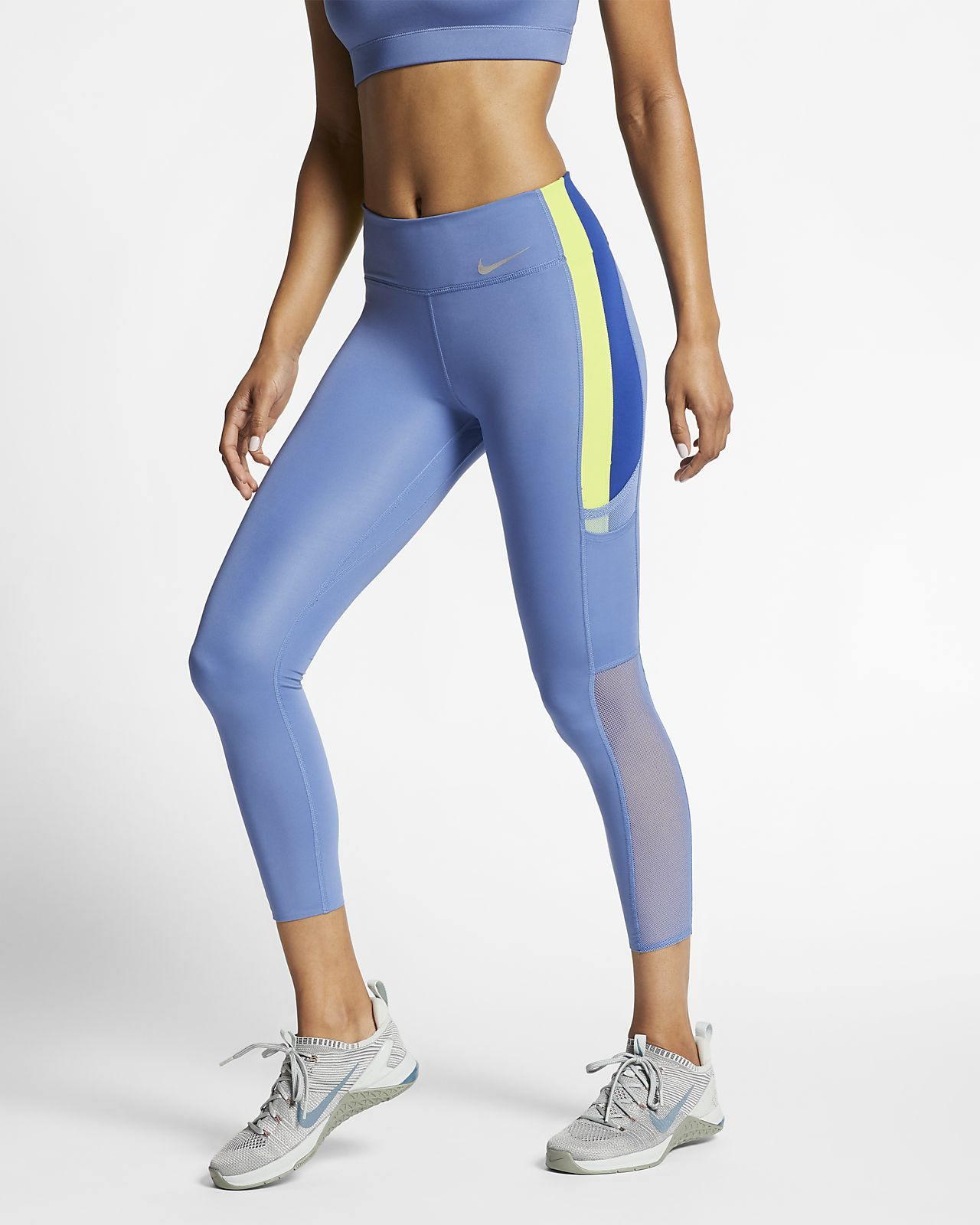 Nike One Luxe 7/8 tights til dame