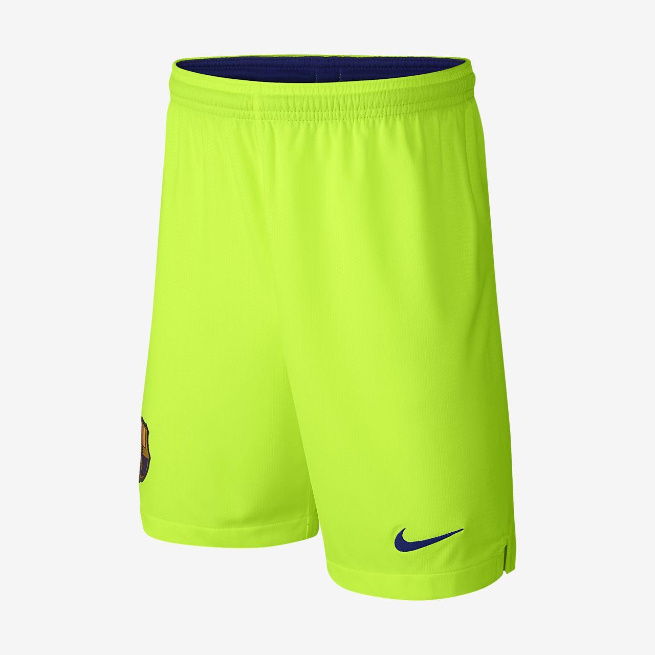 a8e343102e 2018 19 FC Barcelona Stadium Away Older Kids  Football Shorts. Nike ...
