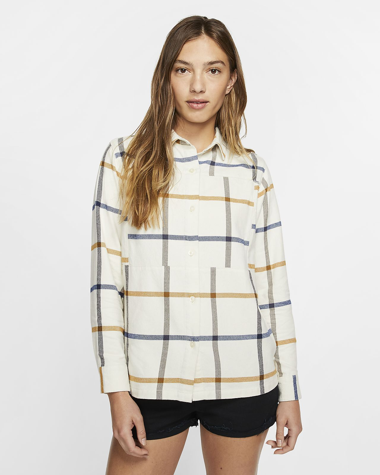 Hurley Wilson Flannel Women's Long-Sleeve Woven Top